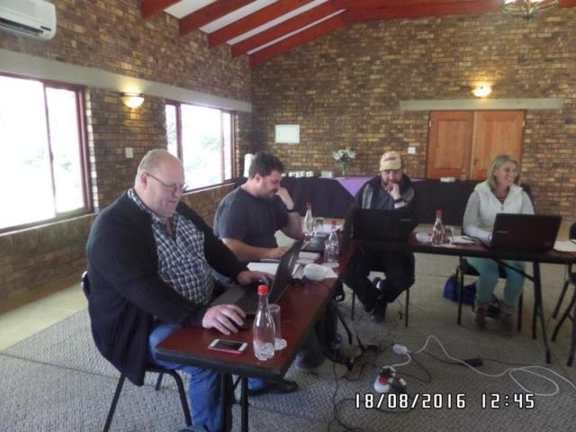 wordpress training course participants midrand