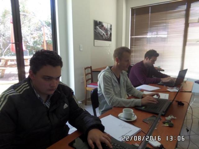 wordpress training course participants alberton