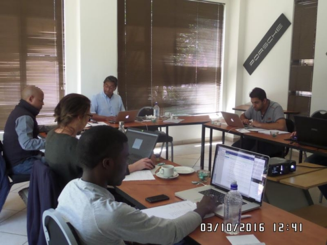 wordpress training course participants johannesburg