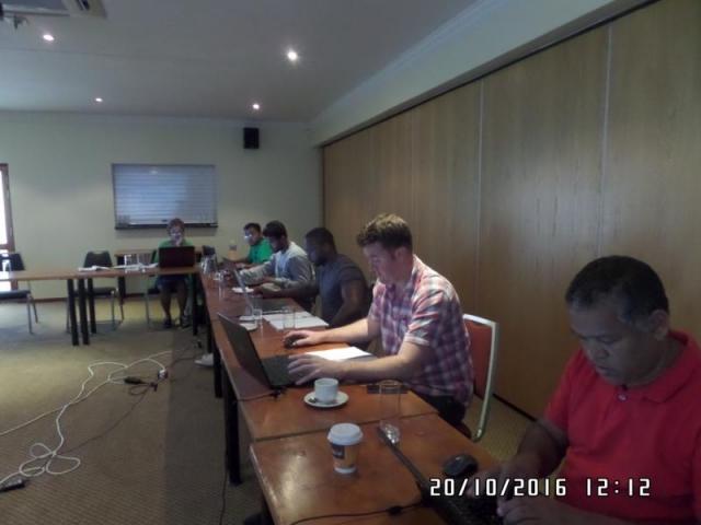 wordpress training course participants cape town