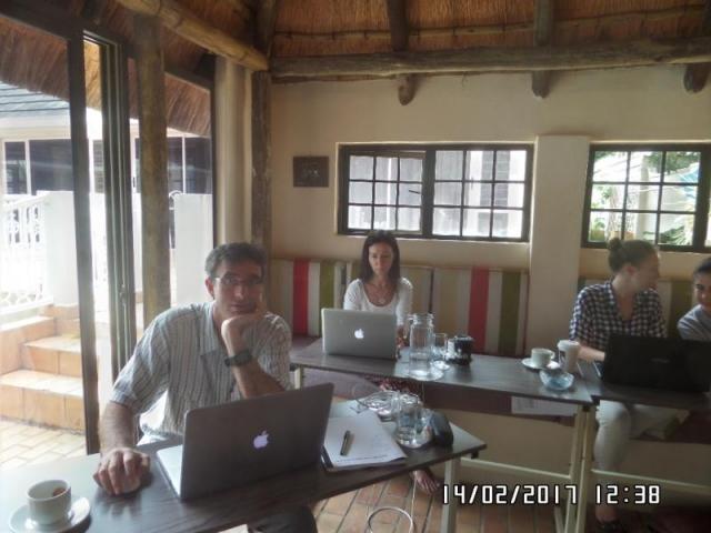 wordpress training course participants durban north