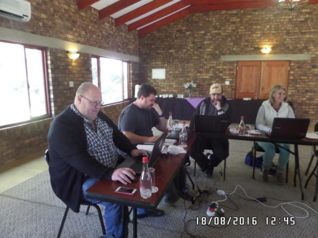 wordpress training course participants midrand