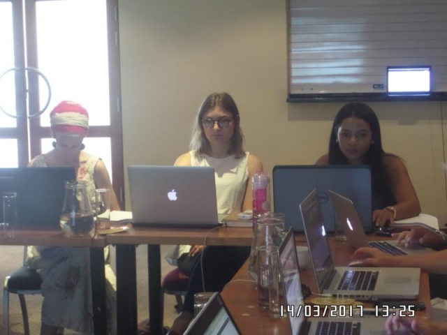 wordpress training course participants cape town