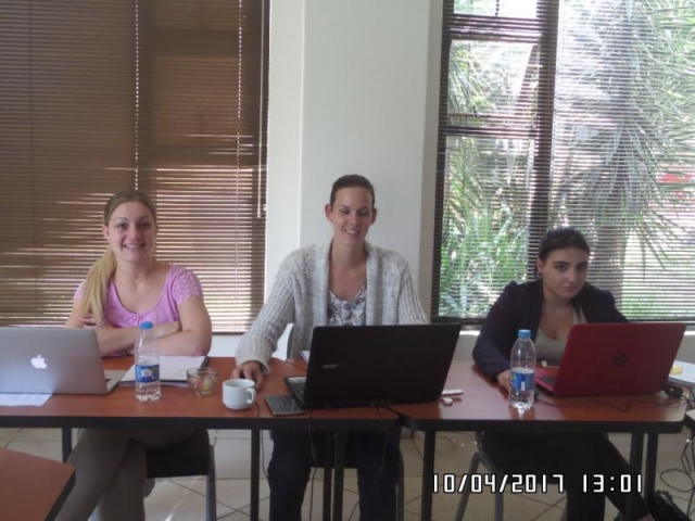 wordpress training course participants alberton